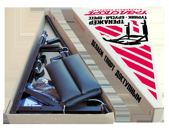 Упаковка тренажёра УРАЛ
