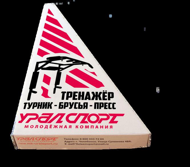 Габариты упаковки тренажёра УРАЛ